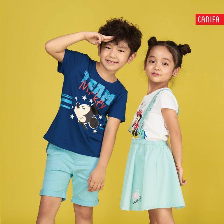 áo thun trẻ em canifa