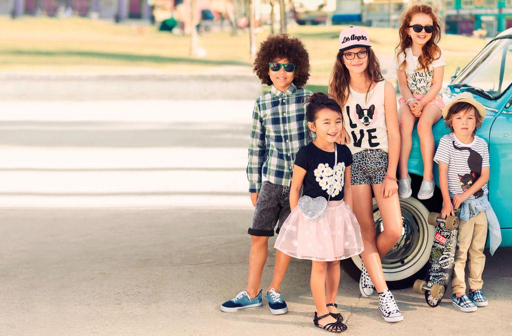 quần áo trẻ em HM