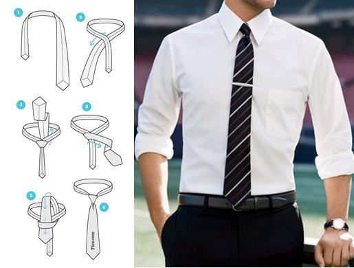 Cách thắt cà vạt đẹp