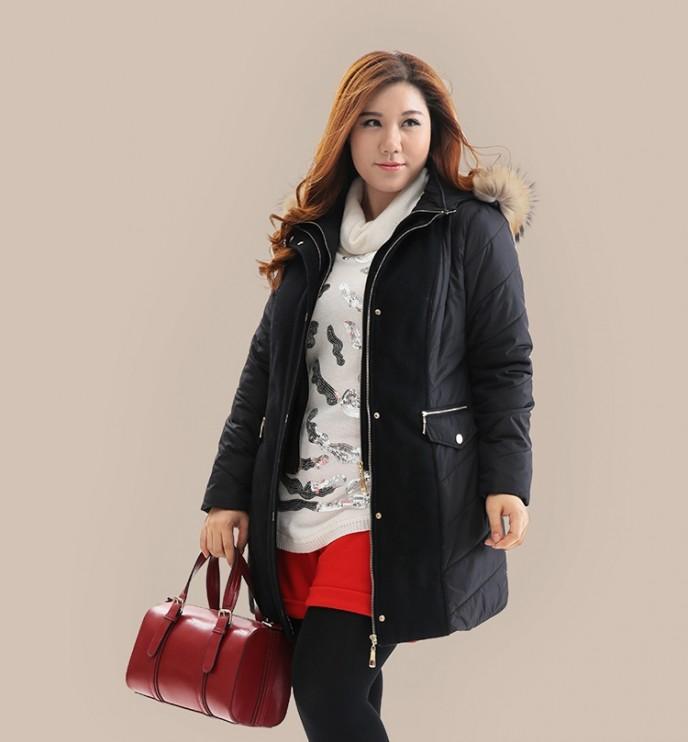 chọn áo khoác cho người béo mùa đông