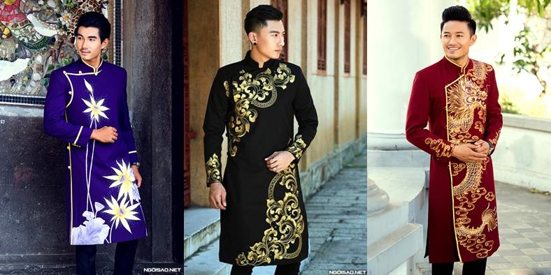 Thiết kế của áo dài nam cách tân