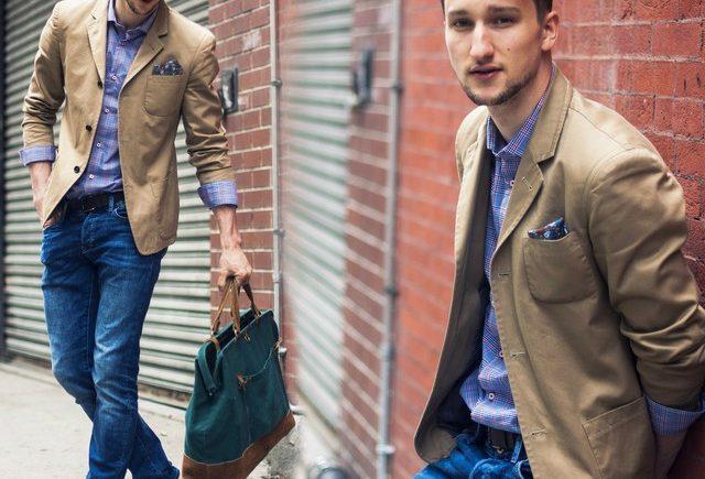 kết hợp vest nam và quần jean