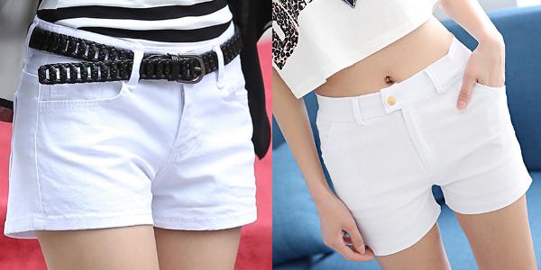 phối đồ với quần short trắng