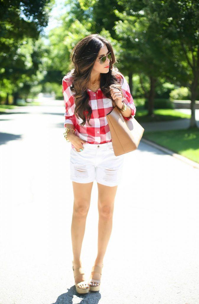 Phối đồ với quần short trắng nữ: 4 cách để ngày hè thêm rực rỡ