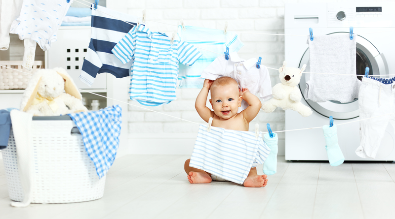 Hướng dẫn giặt quần áo sơ sinh đúng cách