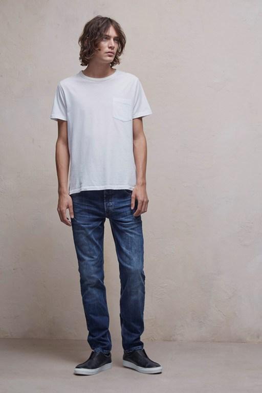 cách chọn quần jean nam cho người thấp chân bé