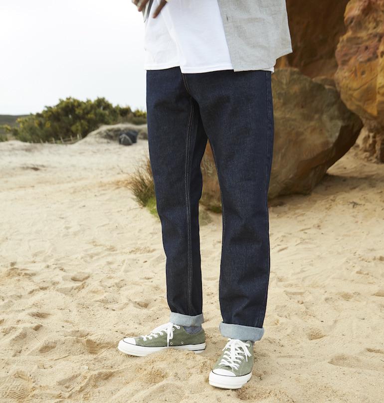 cách chọn quần jean nam cho người thấp