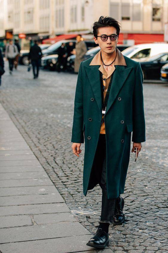 các mẫu áo khoác nam là xu hướng mùa thu - đông 2018