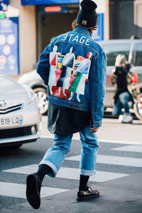 xu hướng áo khoác nam 2018