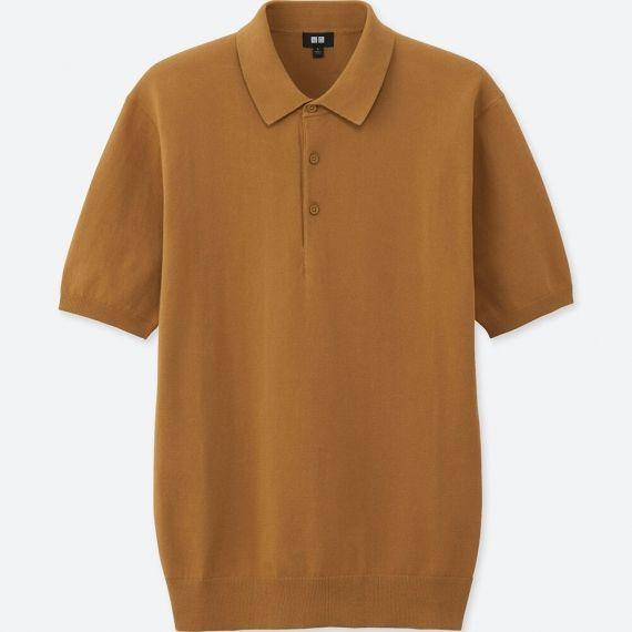 áo thun polo len nam