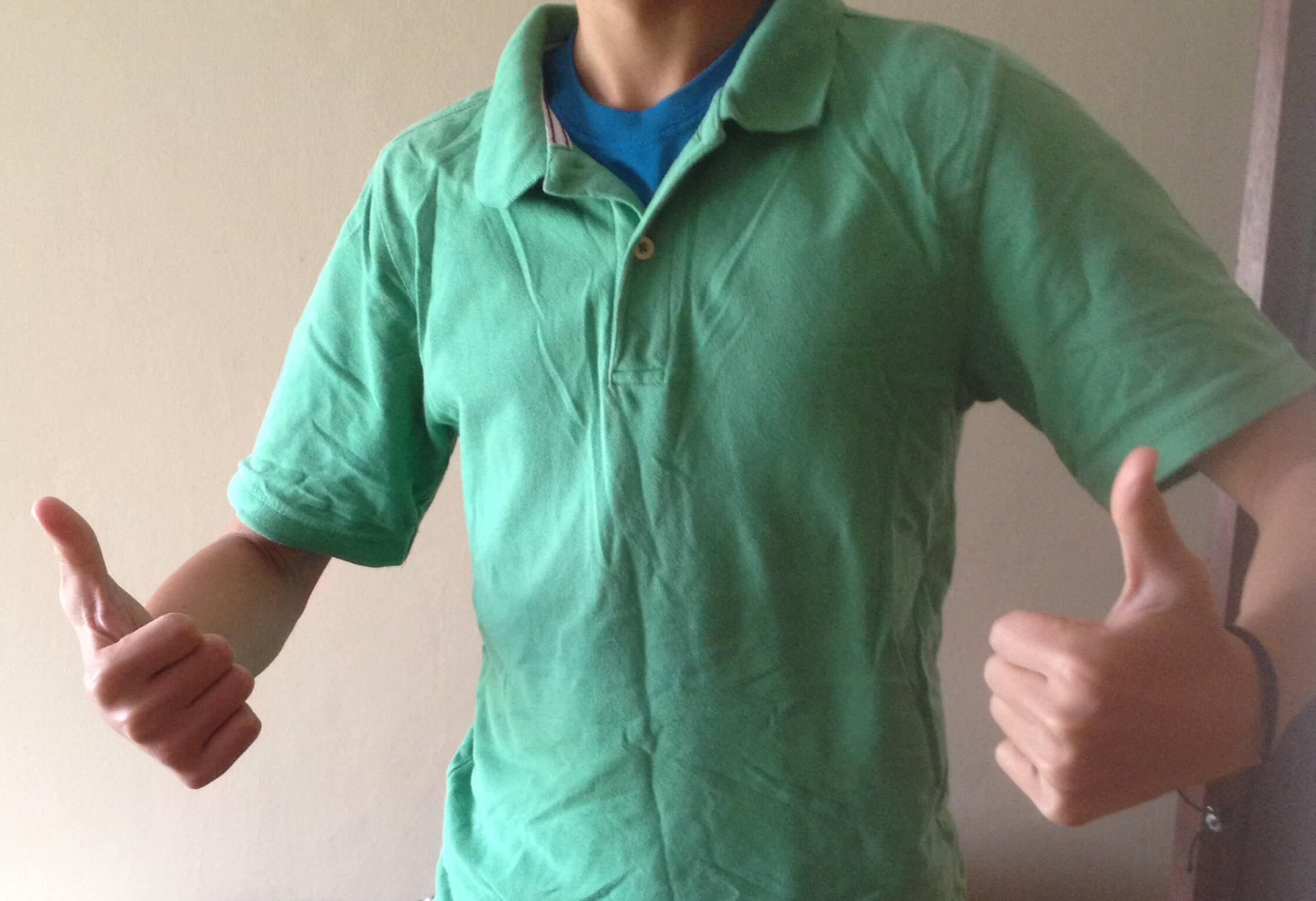 những điều không nên làm khi mặc áo polo nam