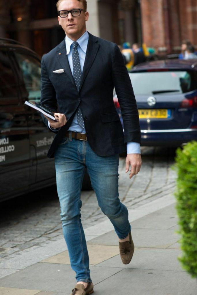 phong cách smart casual nam