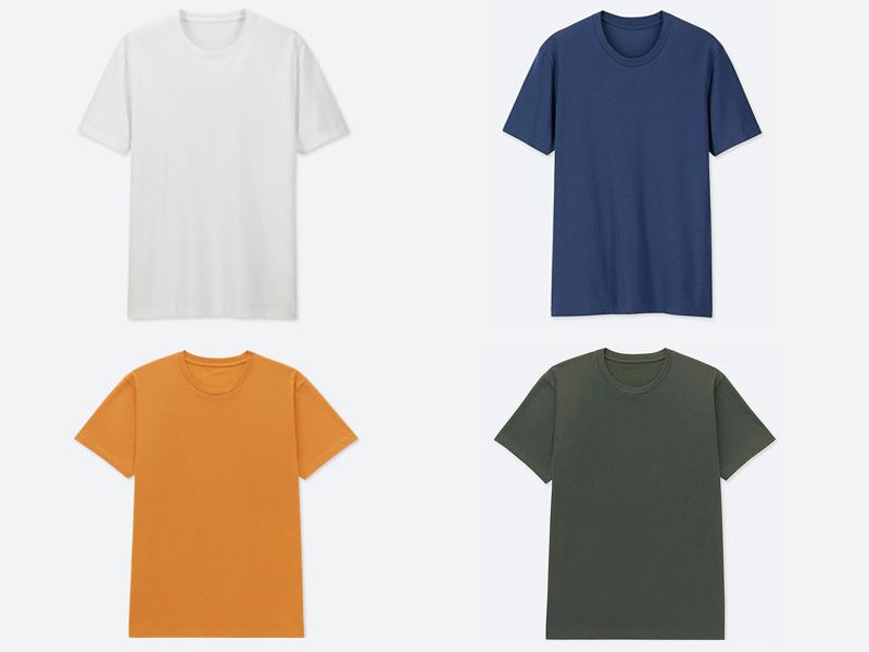 Xây dựng tủ đồ cho nam giới - áo thun không cổ  T shirt