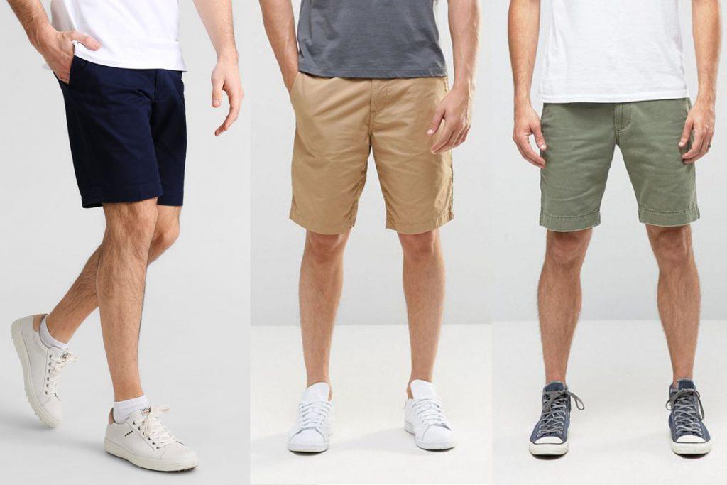Xây dựng tủ đồ cơ bản cho nam giới - quần short