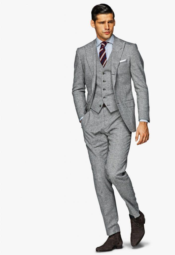 Xây dựng tủ đồ cơ bản cho nam giới - áo vest/ suit