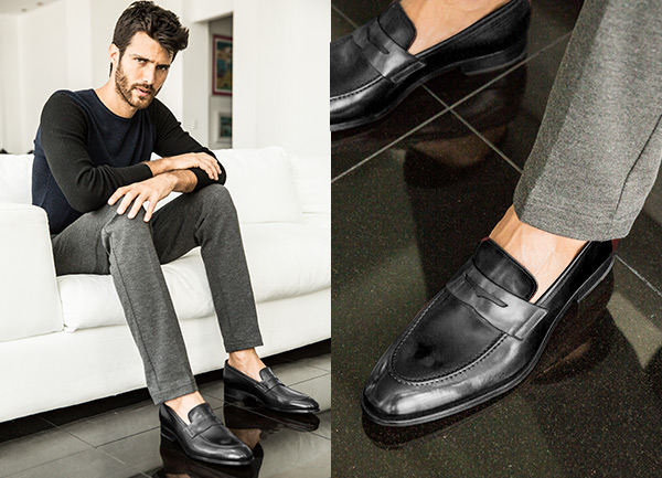 Xây dựng tủ đồ cơ bản cho nam giới - giày loafer ( giày lười )
