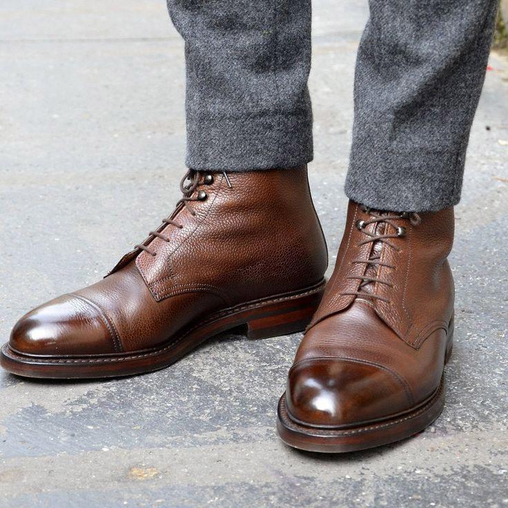 Xây dựng tủ đồ cơ bản cho nam giới - giày boot